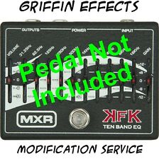 MXR KFK Ten Band EQ - Griffin Effects - Silent Night Modification Service Mod