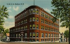 Exterior View YMCA Building in Nashua New Hampshire NH Postcard A16