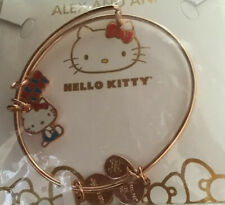 Alex and Ani Hello Kitty Bangle Charm Bracelet Rose Gold Color..SOLD OUT
