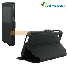 Etui Folio BOOK CASE S-View Stand Noir pour ALCATEL One Touch IDOL 3 (4.7)