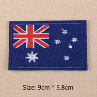Australian Flag Patch for Embroidery Cloth Patches Badge Iron Sew On Australia