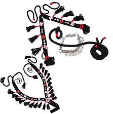 Set Native Egyptian Arabian Horse Show Breast Coller Halter Lead & Noseband 437