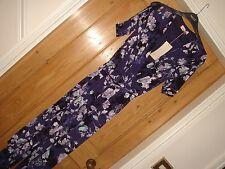 BNWT Per Una Marks an Spencer Jump costume robe de soirée violet taille 10 £ 45 Stretch