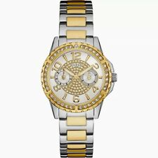 Authentic GUESS Ladies' Sassy Watch Two Tone U0705l4 BRAND