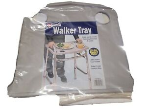 Tray for Walker 21 x 16 inches 2 Cup Holders Raised Edge to contain any spills