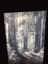 """Emily Carr """"Untitled Woodscene"""" Canadian Art 35mm Slide"""