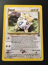 Carte Pokemon TOGEPI 30 Promo Black Star Wizard Française NEUF