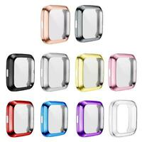 10 Color TPU Silicone Waterproof Screen Protective Cover for Fitbit Versa 2 R1BO