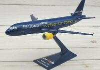 Switch Airport It Airbus A319 Model Scale 1:200 Wooster Hogan Plastic Snap-Fit