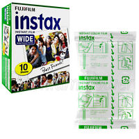 Fujifilm INSTAX Instant film WIDE picture for camera 200/210/300 x10 prints