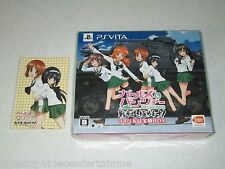 Girls und Panzer Tanks Road Extremely You! Rival Treasure Box Vita Japan Import
