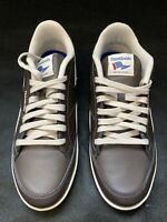 Reebok Royale Flag Brown/White Men's Sneakers Casual Shoes - Size 8.5