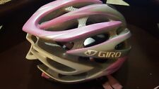 Giro Atmos G134 Helmet -Size Medium  (55-59cr1)--Color Silver/pink
