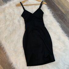 Fabletics Malindi Black Crisscross Back Stretchy Dress Women's Size XSmall NWT