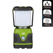 10W 1000lm LED Camping Laterne, Dimmbar 3 Helligkeiten Camping Lampe Leuchte