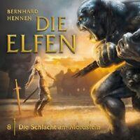 DIE ELFEN - 08: DIE SCHLACHT AM MORDSTEIN  CD  13 TRACKS  HÖRSPIEL  NEU