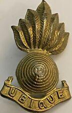 Royal Engineers Corps Collar Dog / Badge #4502