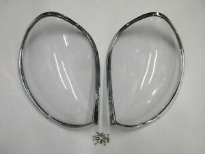 Datsun 240Z 260Z 280Z Reproduction headlight cover set by DCW - Never Installed