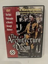 The Architecture Of Doom (DVD, First Run Features, 1991, WWII, World War 2)