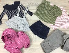 Girls Trendy Designer COS Lauren Zara Next Clothes Bundle Outfit Dress 2-3