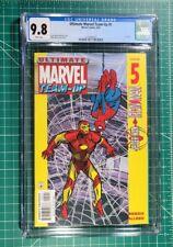 Ultimate Marvel Team-Up #5 (2001) NM CGC 9.8 White Pgs 1st Black Nick Fury