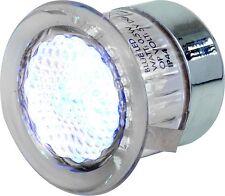 Knightsbridge IP44 Trasparente LED rotondo Giardino Luce Per Pavimenti Kit 4x