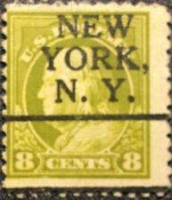 Scott #508 US 1917 Franklin Postage Stamp N.Y. Precancel VF
