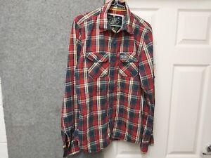 Superdry Extra Large Men's Tartan Casual Shirt
