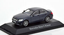 1:43 Norev Mercedes C-Class W205 Saloon 2015 darkblue-metallic