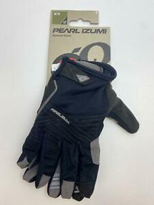 new Pearl Izumi SUMMIT bicycle Long Finger GLOVES men's Black