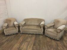 Victorian Roll Armed 3 Piece Suite
