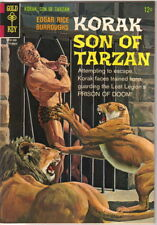 Korak Son of Tarzan Comic Book #14 Gold Key Comics 1966 FINE+