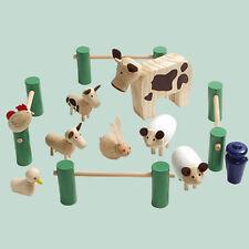 DOLL HOUSE FURNITURE KIDS STUFF FARM ANIMALS 1/12 SCALE KT04