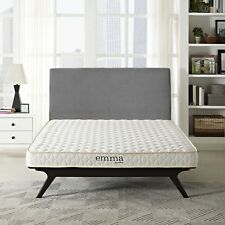 """6"""" Dual-Layer King Size Firm Memory Foam Mattress With 10-Year Warranty"""