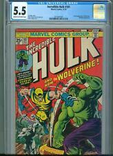 Incredible Hulk 181 (Nov 1974, Marvel) CGC 5.5 ** 1st Appearance of Wolverine **