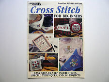 Cross Stitch for Beginners counted cross stitch pattern 10 designs