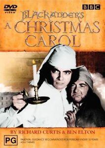 Black Adder Christmas Carol DVD Rowan Atkinson