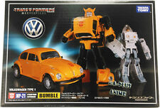 TAKARA Transformers MP-21 Bumblebee Excel Suit Spike Beetle + Mask STOCK AU