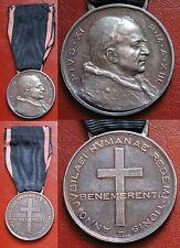 "PAPA PIO XI° MEDAGLIA ARGENTO ""BENEMERENTI"" GIUBILEO 1933 HVMANAE REDEMPTIONIS 2"