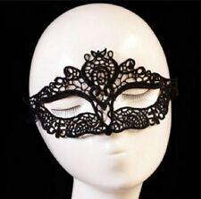 Accessoires sexy , déguisement soirée coquine : masque en dentelle noire
