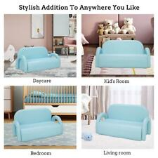 Double Kids Sofa Armrest Chair Couch Lounge Children Birthday Gift Lounge Couch