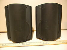OWI AMP602B & P602B Amplified Active Speaker Pair Stereo Combo W/Brackets 100%