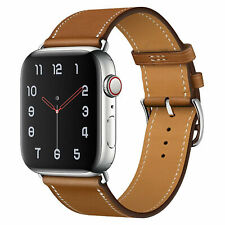 Correa de cuero para Apple Watch Series 5 4 3 2 1 44 mm / 42 mm