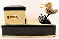 1951 Tin Metal Tobacco Cigarette Dispenser Box Duck Bird - Escanaba Michigan