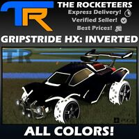 [PS4/PSN]Rocket League All Painted GRIPSTRIDE HX INVERTED Rocket Pass II Wheels
