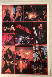 Judas Priest Huge 1982 Poster BiRite Chicago New Condition