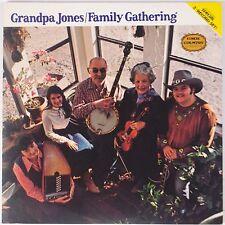 GRANDPA JONES: Family Gathering BANJO CMH Vinyl lp x2 NM-