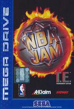 ## SEGA Mega Drive - NBA Jam Tournament Edition T.E (nur Modul, ohne Verpackung)