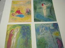 "Marc Chagall  "" Daphnis and Chloe ""   42 Lithograph Suite"