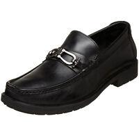 Giorgio Brutini Men black Le Glove LEATHER-Slip-OnShoes Moccasin Loafer-688831-1